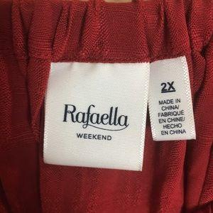 Rafaella Tops - Rafaella Weekend Blouse Size 2X